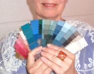 kleurenwaaier met de beste kleuren bij jouw persoonlijkheid